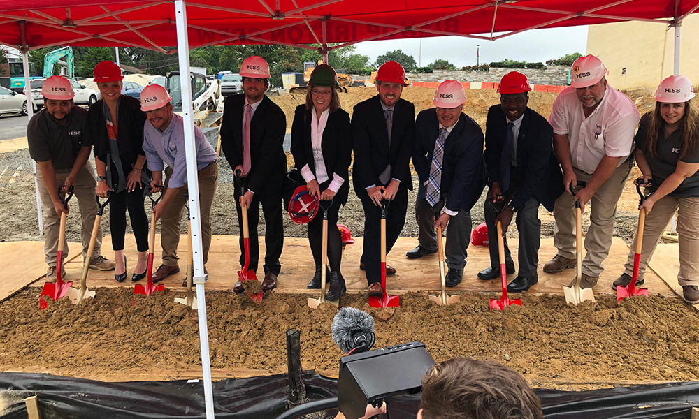 Bishop Ireton Groundbreaking