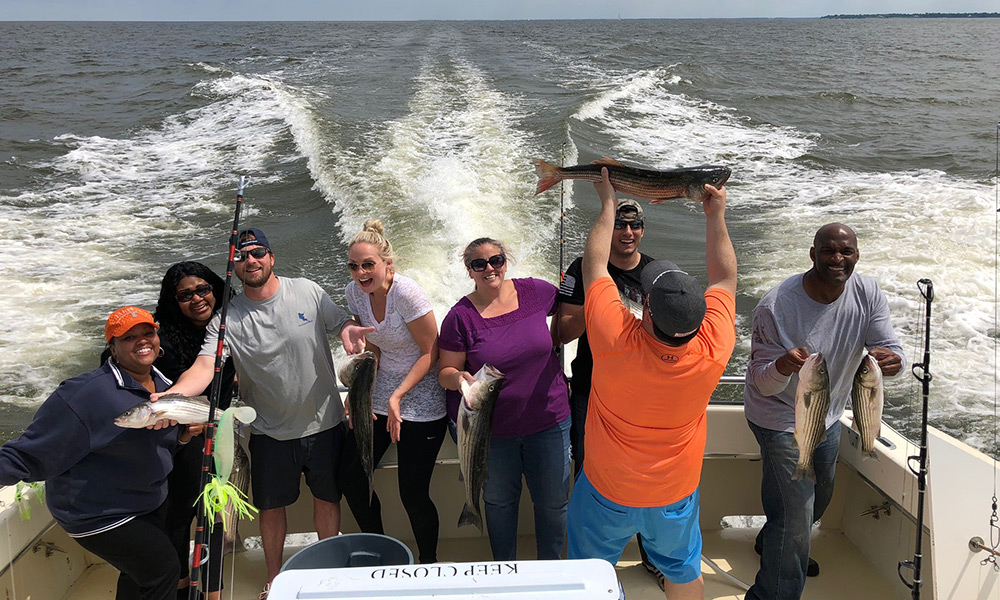 HESS 2018 Annual Fishing Trip