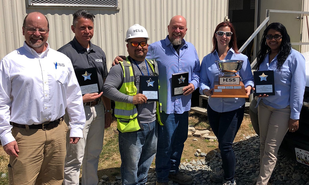 Bethesda-Chevy Chase Site Team Wins HESS' 2017 Safety Award