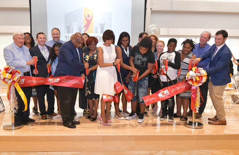 Baltimore 21st Century Schools Ribbon Cutting Ceremony